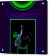 Deep Violet Acrylic Print