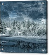 Deep Winter Acrylic Print