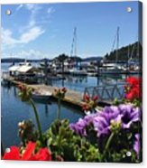 Deer Harbor By Day Acrylic Print
