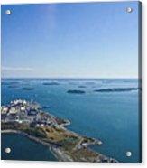 Deer Island In Boston Harbor 14bosl027 Acrylic Print