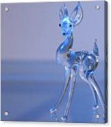 Deer Made Of Glass Acrylic Print