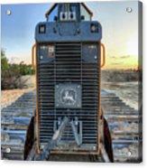 Deere Heavy Equipment  Acrylic Print