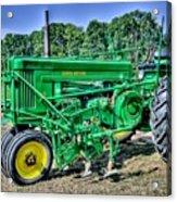 Deere Old Tractor Acrylic Print