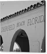 Deerfield Beach Florida Acrylic Print