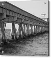 Deerfield Beach Pier Acrylic Print
