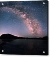 Deerfield Lake Milky Way Acrylic Print