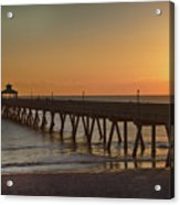 Deerfield Pier Sr Acrylic Print