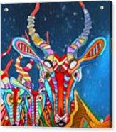 Deers Acrylic Print