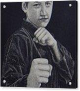 Defend Yourself Acrylic Print by Ron Sylvia