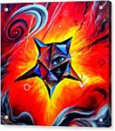 Defender Of The Way To Nirvana Acrylic Print