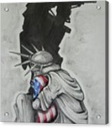 Defending Liberty Acrylic Print