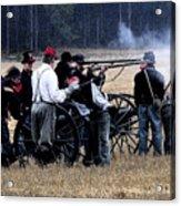 Defending The Artillery Acrylic Print