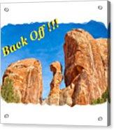 Defiant Rock 2 Acrylic Print
