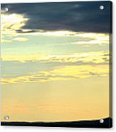 Defined Horizon Acrylic Print