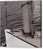 Defining A Catboat Acrylic Print