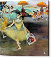 Degas: Dancer, 1878 Acrylic Print