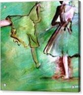 Degas' Dancers Acrylic Print