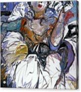 Degas Girl Acrylic Print
