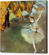 Degas Star, 1876-77. To License For Professional Use Visit Granger.com Acrylic Print