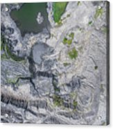 Degraded Landscape Old Coal Mine In South Of Poland. Acrylic Print