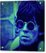 Deja Blue Rolling Stones Bill Wyman Acrylic Print