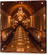 Del Dotto Wine Cellar Acrylic Print by Scott Campbell