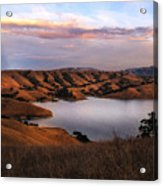 Del Valle At Sunset Acrylic Print