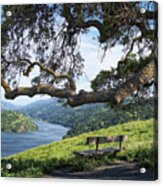 Del Valle Reservoir Acrylic Print