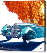 Delahaye 135 M Roadster Acrylic Print