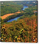 Delaware River From The Appalachian Trail Acrylic Print