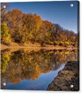 Delaware River Acrylic Print
