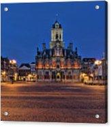 Delft Blue Acrylic Print