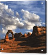 Delicate Arch In Arches National Park Acrylic Print
