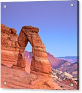 Delicate Arch Sunset Acrylic Print