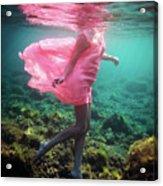 Delicate Mermaid Acrylic Print
