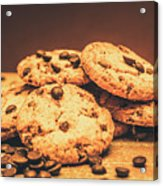 Delicious Sweet Baked Biscuits  Acrylic Print