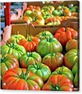 Delicious Tomatoes Acrylic Print