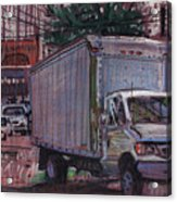 Delivery Truck 2 Acrylic Print