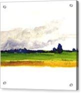 Delmarva Spring Storm Acrylic Print