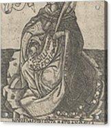 Delphian Sibyl Acrylic Print