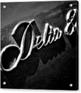 Delta 88 Badge Acrylic Print