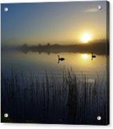 Delta Lakes Acrylic Print