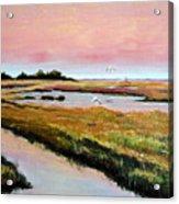 Delta Sunrise Acrylic Print