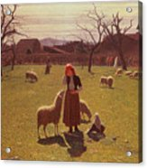 Deluded Hopes Acrylic Print by Giuseppe Pellizza da Volpedo