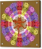 Deluxe Tribute To Tuko - Bronze Background Acrylic Print