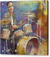 Demon Drummer Acrylic Print