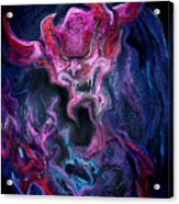 Demon Fire Acrylic Print
