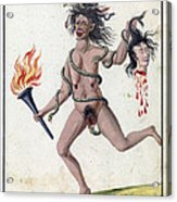 Demonology, 18th Century Acrylic Print