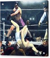 Dempsey And Firpo Acrylic Print by Pg Reproductions