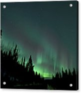 Dempster Highway Lights Acrylic Print